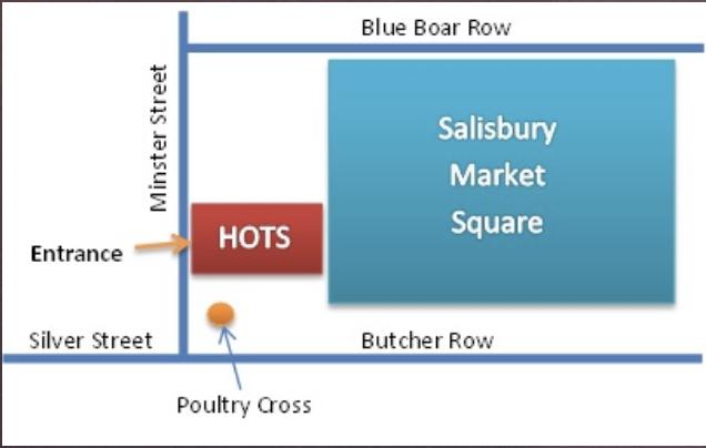 Hair on the Square location: 4 Minster Street, Salisbury, SP1 1TF